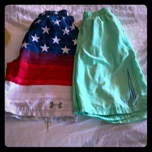 Nike/Under Armour swim suit bundle